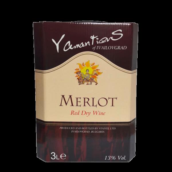 "MERLOT ""YAMANTIEVS"" BIB 3l. Ivaylovgrad"