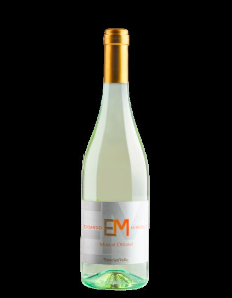 """Weißwein MUSCAT OTTONEL """"EM"""" Elenovo, halbtrocken"""