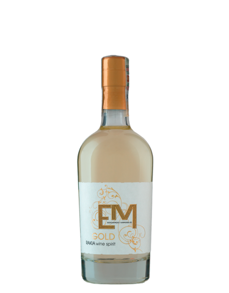 "TRAUBENBRAND ""VINENA RAKIA GOLD"" 40% vol., Elenovo"